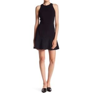 Theory Fit & Flare Mini Dress Felicitina FLAW NWT